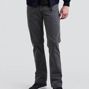 Levis 514 32x30 Straight Leg Grey